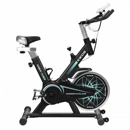 Bicicleta Ergométrica Spinning Kikos Max KS5 até 120kg - Preto