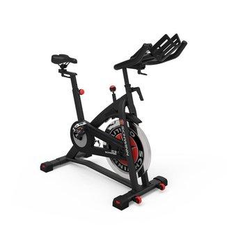 Bicicleta Ergométrica Spinning Schwinn IC3-IC7 até 135KG com Roda de Inércia 18KG e Painel LCD