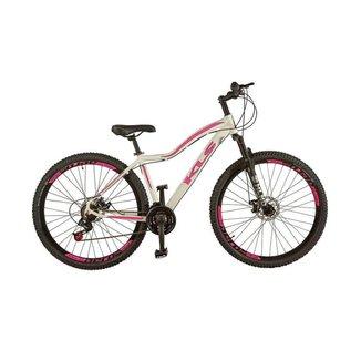 Bicicleta Feminina Aro 29 MTB Aluminio Freio a Disco Tamanho 15