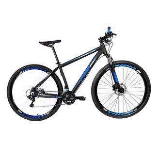Bicicleta FKS Start 21v Freio Hidráulico MTB 29 Shimano Tourney