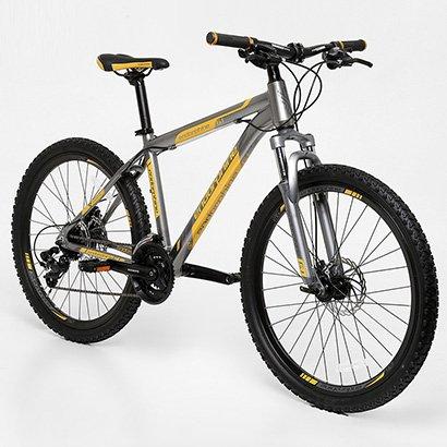 Bicicleta GONEW Endorphine 6.1 - Shimano Alumínio Aro 26 - 24 Marchas - Unissex