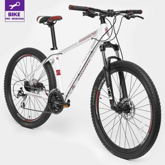 Bicicleta GONEW Endorphine 7.2 - Aro 27,5 - 24 Marchas - Branco