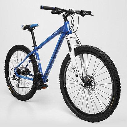Bicicleta Gonew Endorphine 7.3 - Shimano Alumínio Aro 29 - 24 Marchas - Unissex - Azul Claro+Marinho