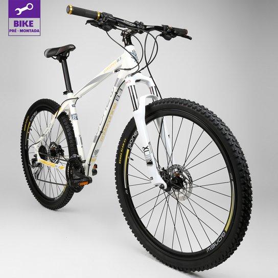 Bicicleta Gonew ENDORPHINE 8.3 -Shimano Alumínio Aro 29 - 27 Marchas- 2015 - Branco+dourado
