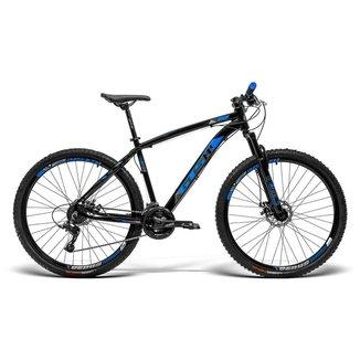 Bicicleta GTS Aro 29 Freio a Disco Câmbio Traseiro Gtsm1 TSI 21 Marchas e Amortecedor Ride