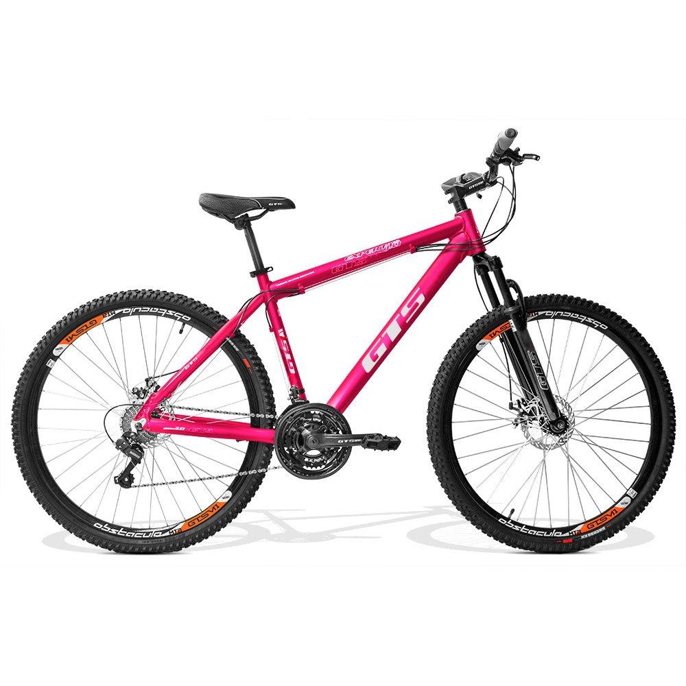 Bicicleta Gts M1 Expert 1.0 T21 Aro 29 Susp. Dianteira 24 Marchas - Rosa