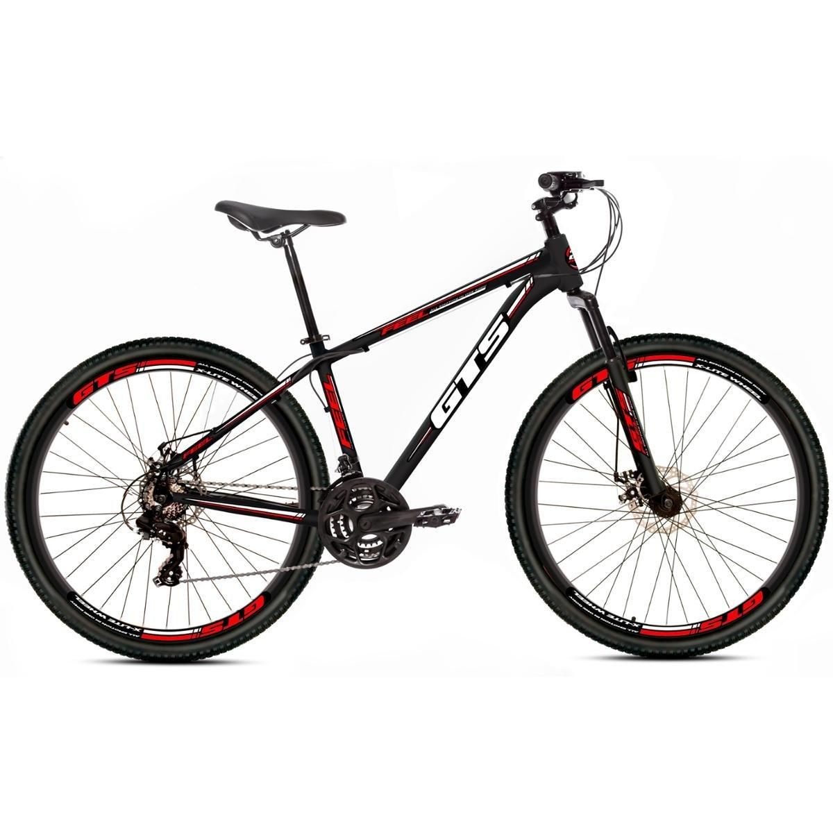 Bicicleta Gts Feel Aro 26 Freio À Disco 21 Marchas 9c8212089ef