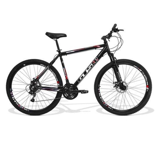 Bicicleta Gts M1 Ride Aro 29 Freio A Disco Câmbio Traseiro Shimano 24 Marchas E Amortecedor - Preto