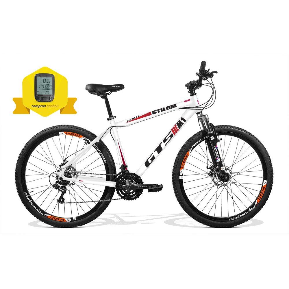 7f0a9c72cdb8f Bicicleta Gtsm1 Stilom 2.0 Aro 29 Freio A Disco 24 Marchas + Brinde Ciclo  Computador - Compre Agora