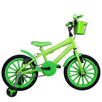 Bicicleta Infantil Aro 16 FlexBikes Com Rodinhas