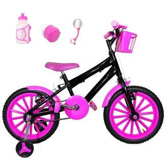 Bicicleta Infantil Aro 16 Kit C/ Acessórios
