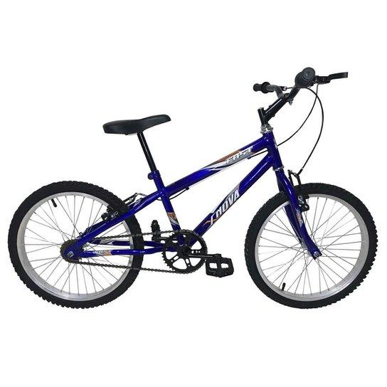 Bicicleta Infantil em Aço Carbono Aro 20 MTB - Xnova - Azul