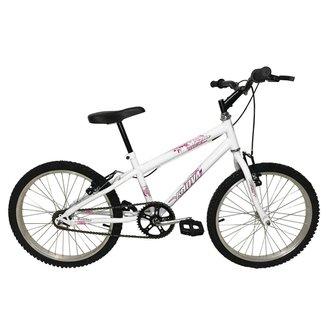 Bicicleta Infantil Feminina em Aço Carbono Aro 20 MTB Bella - Xnova
