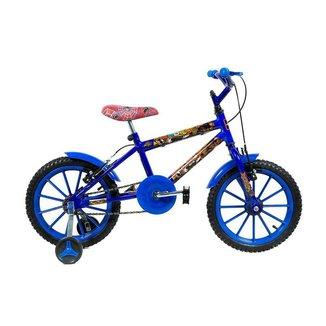 Bicicleta Infantil Kls Heroes Aro 16 Rodas de Nylon