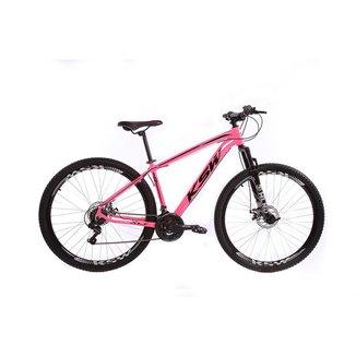 Bicicleta Ksw Aro 29 Freios a Disco 21 marchas Câmbios Shimano