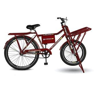 Bicicleta Kyklos Aro 26 Cargo 4.7 A-36 Reforçado Freio Contapedal e V-Brake