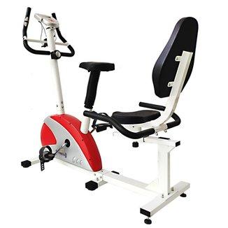 Bicicleta Magnética de Exercícios Ergométrica WCT Fitness