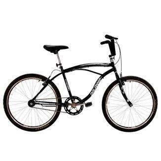 Bicicleta Masculina Aro 26 Beach Preto