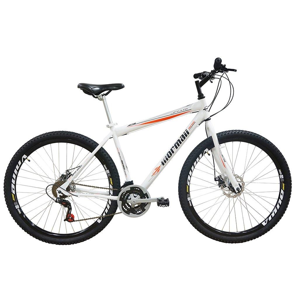 Bicicleta Mountain Bike Mormaii Aro 29 Jaws Disk Brake - Branco ... 4da4c7c7ff