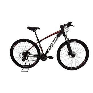 Bicicleta MTB Alum 29 KSW Shimano 27 Vel Freio Disco Hidráulica