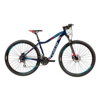 Bicicleta MTB Caloi Atacama Aro 29 - Susp Diant - 24 Vel