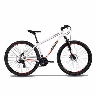 Bicicleta MTB Caloi Vulcan Aro 29 - 17'' - 21 Velocidades - Branco