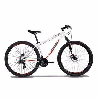 Bicicleta MTB Caloi Vulcan Aro 29 - Shimano - 15'' - 21 Velocidades - Branco