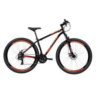 Bicicleta MTB Caloi Vulcan Aro 29 - Susp Diant - Quadro 17 - Shimano - 21 Vel - Freio a Disco