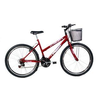Bicicleta Mtb Kls Sport Gold Aro 26 Freio V-Brake 21 Marchas Feminina