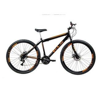 Bicicleta Mtb Kls Sport Gold Aro 29 Freio Disco 21 Marchas Shimano