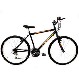 Bicicleta Mtb Masculina Aro 26 18 Vel. Freios V-brake
