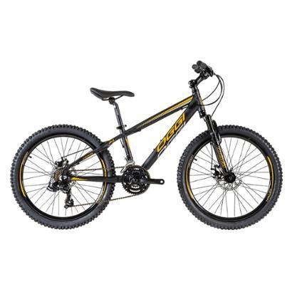 Bicicleta Mtb Oggi Hacker Sport Aro 24 E - Unissex - Preto+Azul