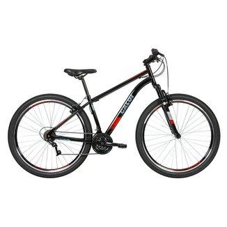 Bicicleta MTB Two Niner Aro 29 Parede Dupla - Susp Dianteira - Quadro Aço - 21 Velocidades