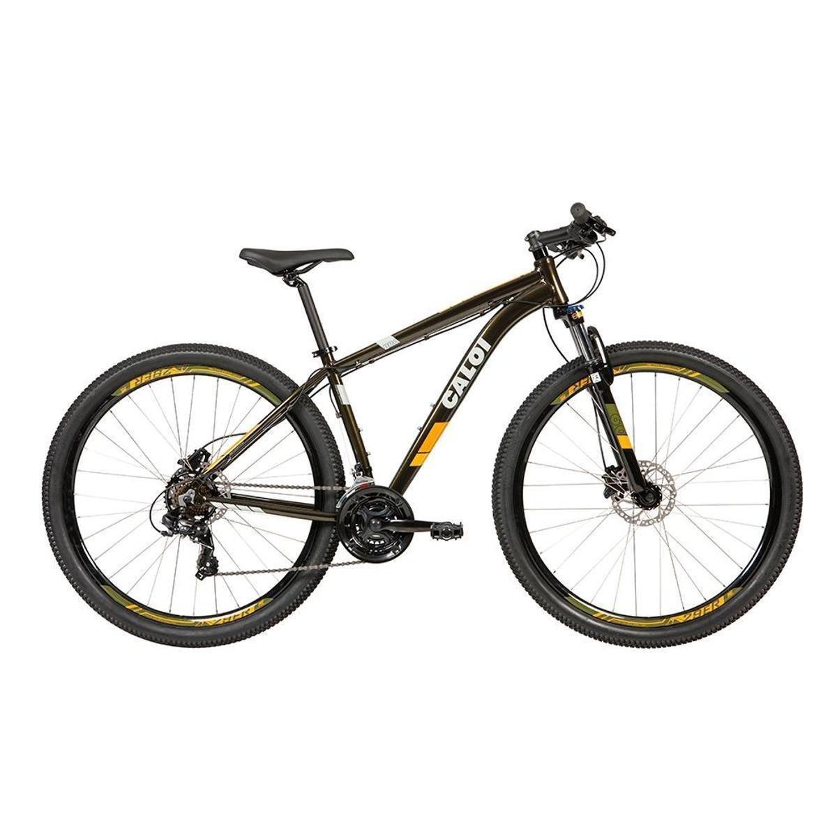 Bicicleta Caloi Two Niner Aro 29 Susp. Dianteira 21 Marchas - Verde