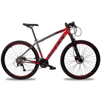 Bicicleta MTB Z7-X Aro 29 Quadro Alumínio 27 Marchas Suspensão Trava Freio Disco Hidráulico - Dropp