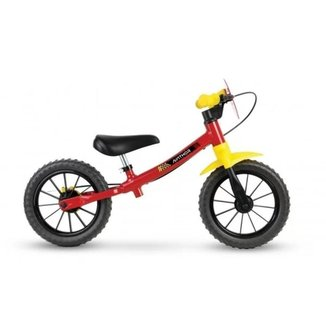 Bicicleta Nathor Balance Bike Aro 12 Masculina