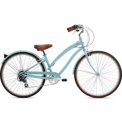 Bicicleta Nirve Starliner Vintage Cream - Feminino - Azul Claro