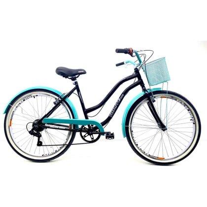 Bicicleta Retro Aro 26 New Beach + Shimano 7v ROUTE BIKE