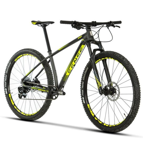Bicicleta SENSE 2019 Impact SL Aro 29 11 Marchas SRAM - Preto+Amarelo