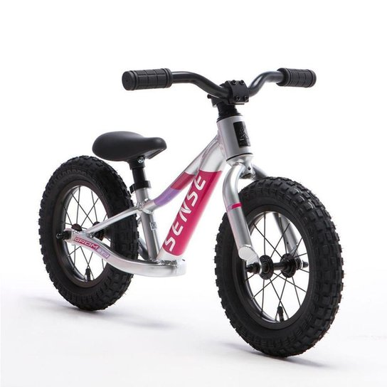 Bicicleta Sense Grom 2021 Infantil Equilibrio Aro 12 Rosa - Rosa
