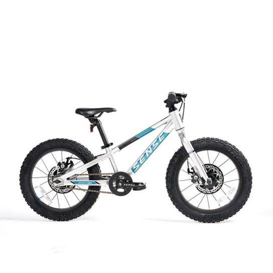 Bicicleta Sense Impact Grom 2021/22 Infantil Mtb Aro 16 - Azul