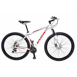 Bicicleta Snow MTB Aro 29 Kit Shimano 21 Marchas Susp. Dianteira e Freios a Disco - 429