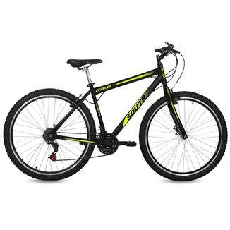 Bicicleta South Gross Aro 29 Aço Freio Vbrake 18 marchas