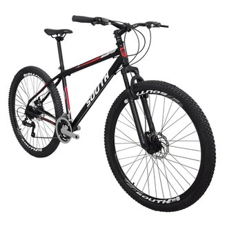 Bicicleta South Hunter GT - Aro 29 - 21 Marchas - Freios a Disco - Suspensão Dianteira