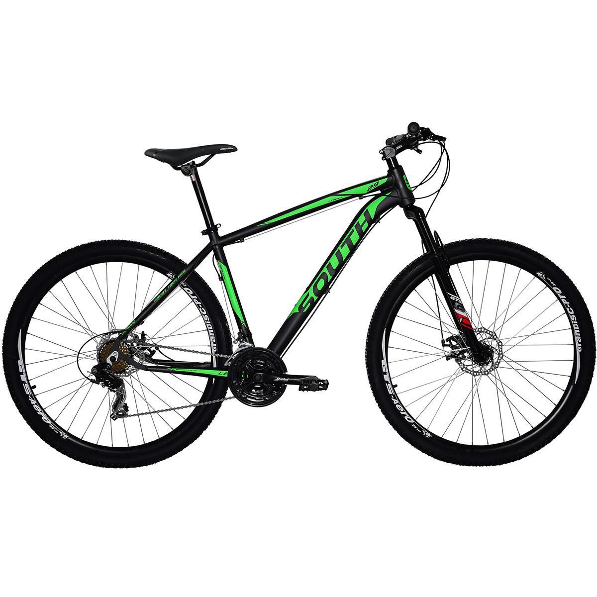 952d678ee Bicicleta South Legend 2017 - aro 29 - alumínio - freio a disco - câmbio  shimano
