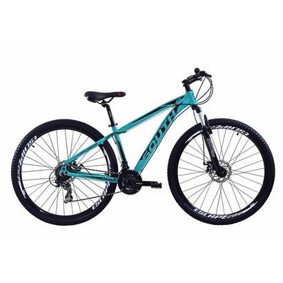 Bicicleta South Legend 2017 - aro 29 - alumínio - freio a disco - componentes shimano - 21 marchas - Unissex - Rosa