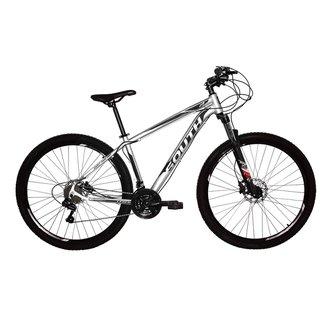 Bicicleta South Legend  Aro 29  Alumínio  Freio A Disco Hidráulico  24 Marchas