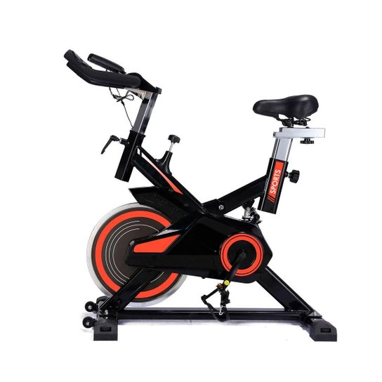Bicicleta Spinning Freecycle 7800 - E Laranja - Preto
