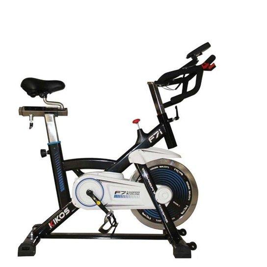 Bicicleta Spinning Kikos F7i - Preto