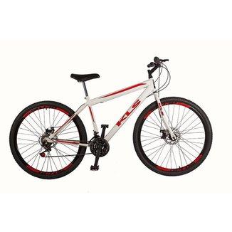 Bicicleta Sport Gold Aro 29 Mountain Bike Quadro em Aço Carbono 21 Marchas KLS